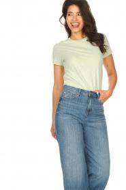 American Vintage    Cotton T-shirt Vegiflower   groen    Picture 2