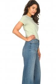 American Vintage    Cotton T-shirt Vegiflower   groen    Picture 4
