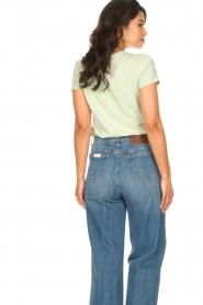 American Vintage    Cotton T-shirt Vegiflower   groen    Picture 5
