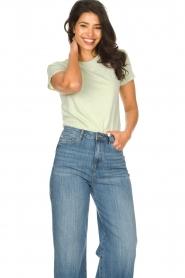 American Vintage    Cotton T-shirt Vegiflower   groen    Picture 3