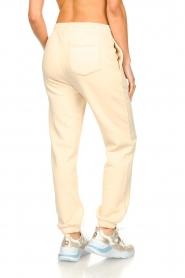 Second Female |  Cotton sweatpants Carmella | nude   | Picture 5