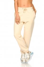 Second Female |  Cotton sweatpants Carmella | nude   | Picture 3