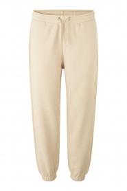 Second Female |  Cotton sweatpants Carmella | nude   | Picture 1