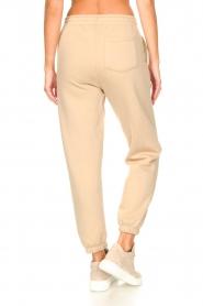 Second Female |  Cotton sweatpants Carmella | beige  | Picture 6