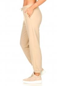 Second Female |  Cotton sweatpants Carmella | beige  | Picture 5