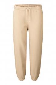 Second Female |  Cotton sweatpants Carmella | beige  | Picture 1