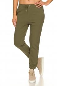 Second Female |  Cotton sweatpants Carmella | green  | Picture 5