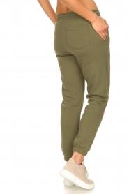 Second Female |  Cotton sweatpants Carmella | green  | Picture 7