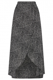 Aaiko |  Dotted midi skirt Cate | black  | Picture 1