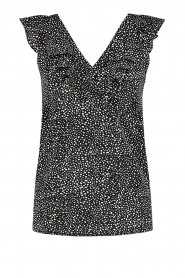 Aaiko |  Dotted top Farin | black  | Picture 1