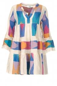 Devotion    Cotton print dress Ella   natural/lilac    Picture 1