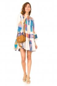 Devotion    Cotton print dress Ella   natural/lilac    Picture 3