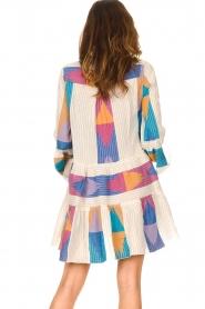 Devotion    Cotton print dress Ella   natural/lilac    Picture 6