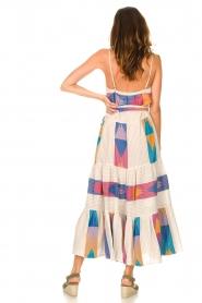 Devotion |  Cotton maxi dress with print Bracken | natural  | Picture 6