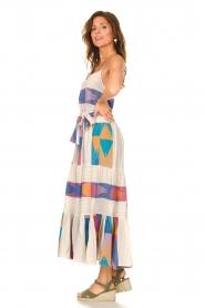Devotion |  Cotton maxi dress with print Bracken | natural  | Picture 5