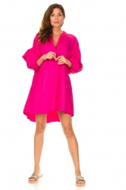 Devotion |  Popeline dress Maro | pink  | Picture 3