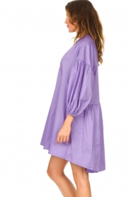 Devotion |  Popeline dress Maro | lilac  | Picture 6