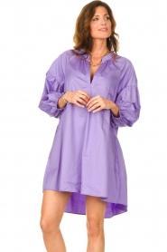 Devotion |  Popeline dress Maro | lilac  | Picture 5