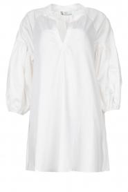 Devotion | Popeline jurk Maro | wit  | Afbeelding 1