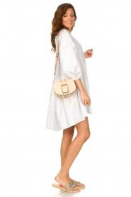 Devotion | Popeline jurk Maro | wit  | Afbeelding 3