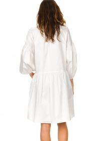 Devotion | Popeline jurk Maro | wit  | Afbeelding 7