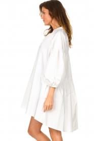 Devotion | Popeline jurk Maro | wit  | Afbeelding 6