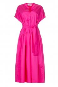 Devotion |  Cotton maxi dress Chara | fuchsia  | Picture 1