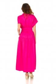Devotion |  Cotton maxi dress Chara | fuchsia  | Picture 7