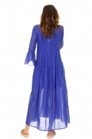 Devotion |  Cotton maxi dress Bella | blue  | Picture 6