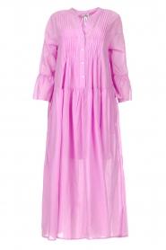 Devotion |  Cotton maxi dress Bella | lilac  | Picture 1