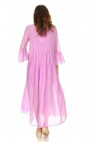 Devotion |  Cotton maxi dress Bella | lilac  | Picture 5