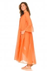 Devotion |  Cotton maxi dress Bella | orange  | Picture 6