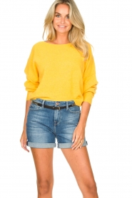 American Vintage |  Knitted sweater Damsville | mango  | Picture 2