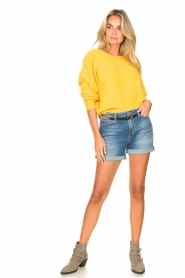 American Vintage |  Knitted sweater Damsville | mango  | Picture 3