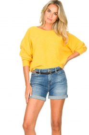American Vintage |  Knitted sweater Damsville | mango  | Picture 4