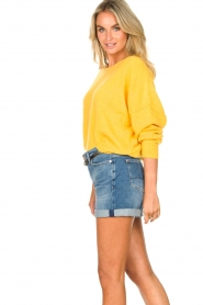 American Vintage |  Knitted sweater Damsville | mango  | Picture 6