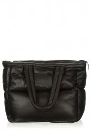 STUDIO AR |  Leather puffer bag Large Gilda | black  | Picture 1