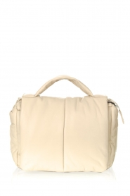 STUDIO AR    Leather puffer shoulder bag Fiona   natural     Picture 1