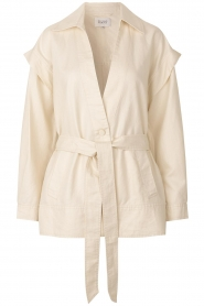 Second Female |  Linen jacket Selene | natural  | Picture 1