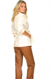 Second Female |  Linen jacket Selene | natural  | Picture 7