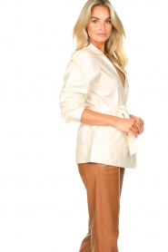 Second Female |  Linen jacket Selene | natural  | Picture 5