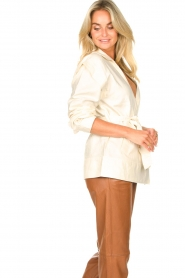 Second Female |  Linen jacket Selene | natural  | Picture 6