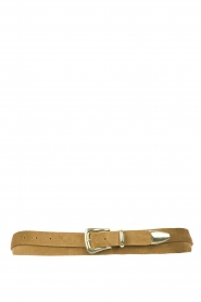 The Kaia    Suede wrap belt Martha   olive green    Picture 1