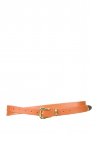 The Kaia |  Leather wrap belt Martha | brown  | Picture 1