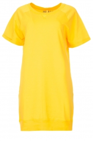 Blaumax | Sweater jurk Queens | geel  | Afbeelding 1