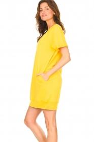 Blaumax | Sweater jurk Queens | geel  | Afbeelding 5