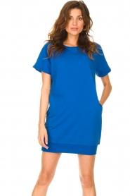 Blaumax    Sweater dress Queens   cobalt blue    Picture 2