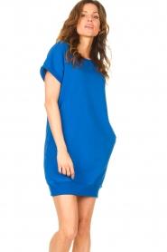 Blaumax    Sweater dress Queens   cobalt blue    Picture 4