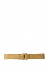 The Kaia |  Suede belt Parton | olive green  | Picture 1