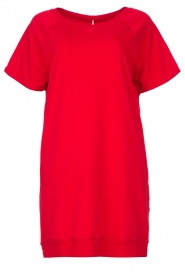 Blaumax    Sweater dress Queens   red    Picture 1